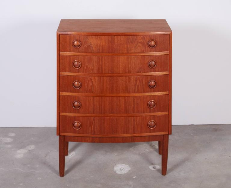 Kai Kristiansen Teak Mini Dressers, Pair 3