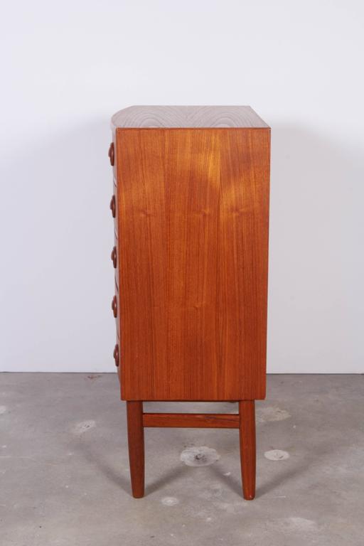 Kai Kristiansen Teak Mini Dressers, Pair 6