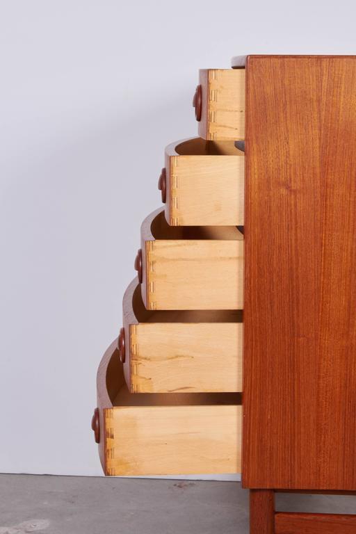 Kai Kristiansen Teak Mini Dressers, Pair 7