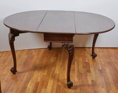 A George II Mahogany Drop Leaf Table
