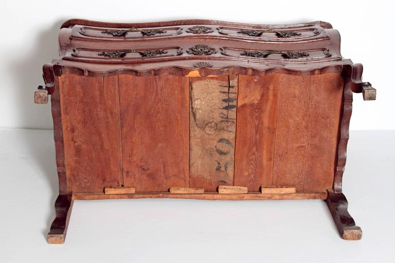 Louis XV Period Walnut Chest For Sale 3
