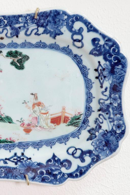 Chinese Export Porcelain Platters 2