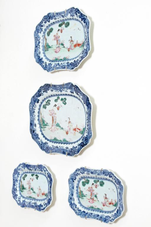 Chinese Export Porcelain Platters 5