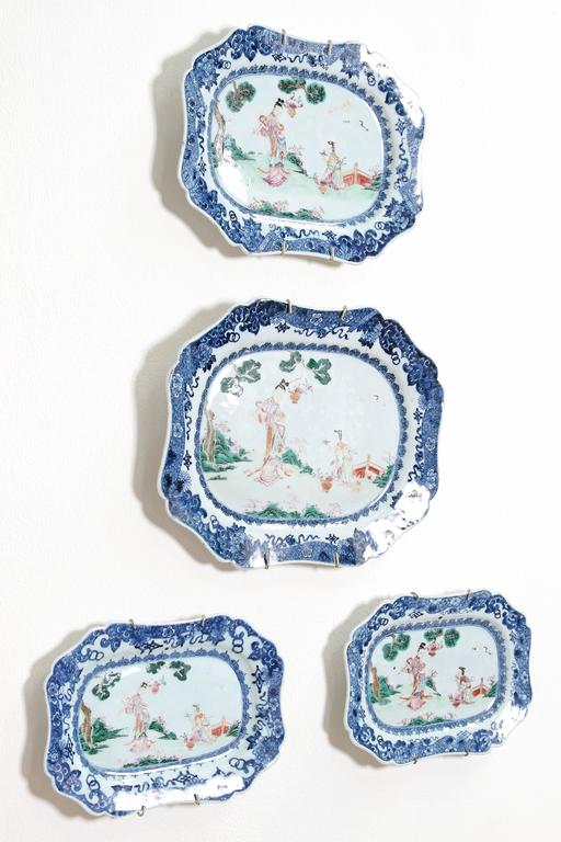 Chinese Export Porcelain Platters 6