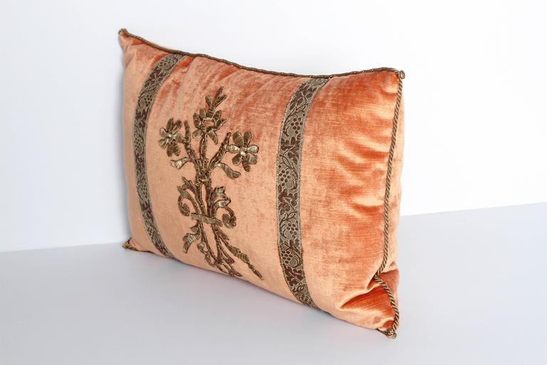Antique Textile Pillow by Rebecca Vizard 3