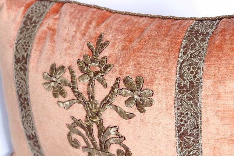 Antique Textile Pillow by Rebecca Vizard 4
