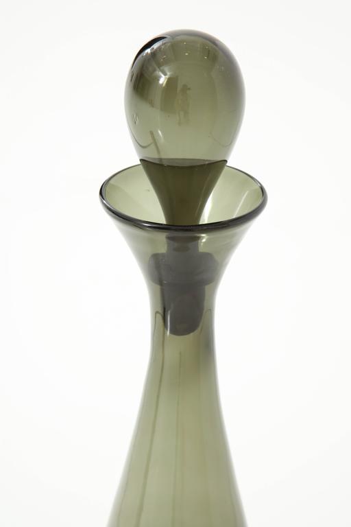 Blenko Glass Bottle, circa 1950 2