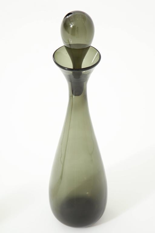 Blenko Glass Bottle, circa 1950 6