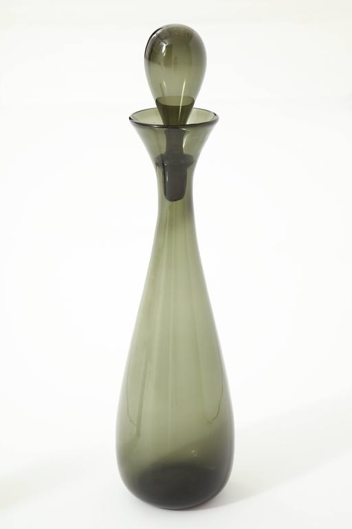 Blenko Glass Bottle, circa 1950 7