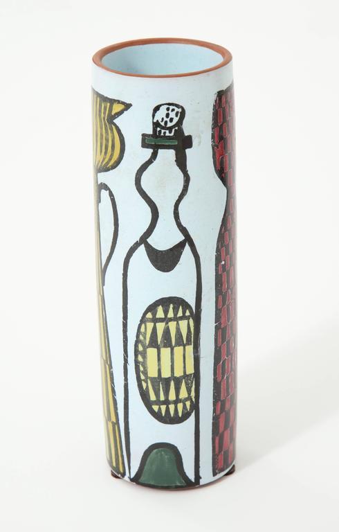 Decorative vase by Stig Lindberg, Sweden, circa 1950.