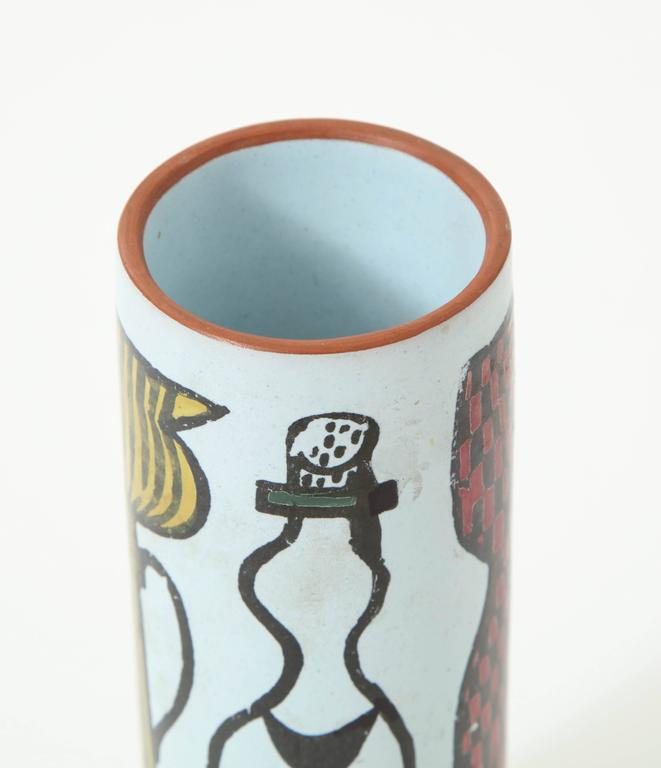 Ceramic Vase by Stig Lindberg, Sweden, C 1950 In Excellent Condition For Sale In New York, NY