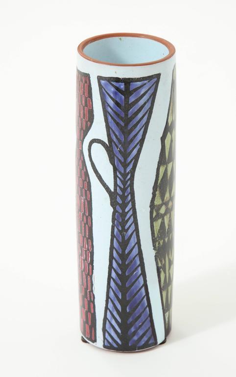 Ceramic Vase by Stig Lindberg, Sweden, C 1950 For Sale 1