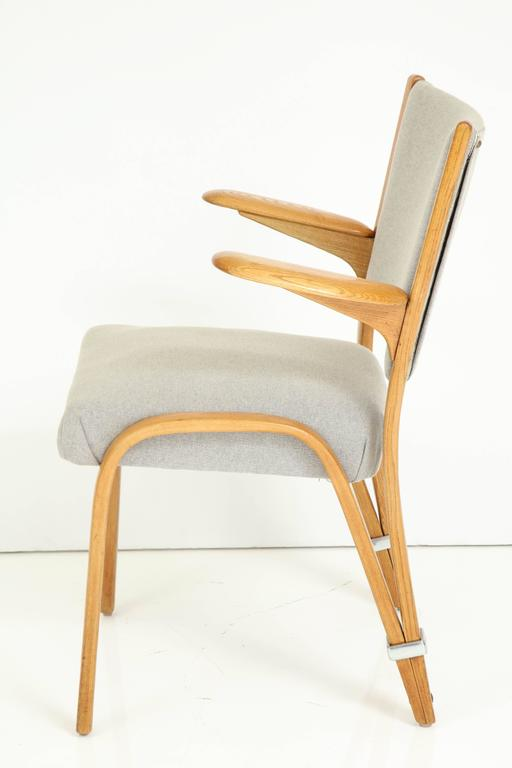 Rare Pair of 1950s Hugues Steiner Armchairs For Sale 5