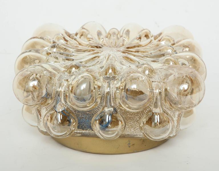 German Limburg Champagne Glass Sconces For Sale
