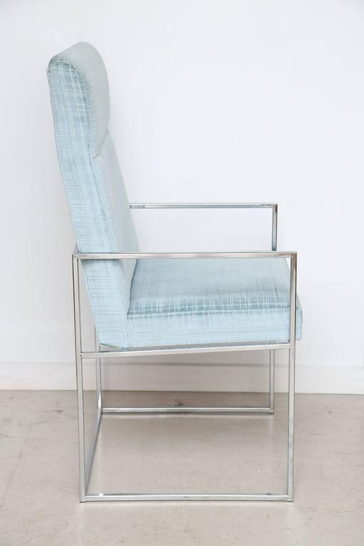 Set of Milo Baughman Dining Chairs 4