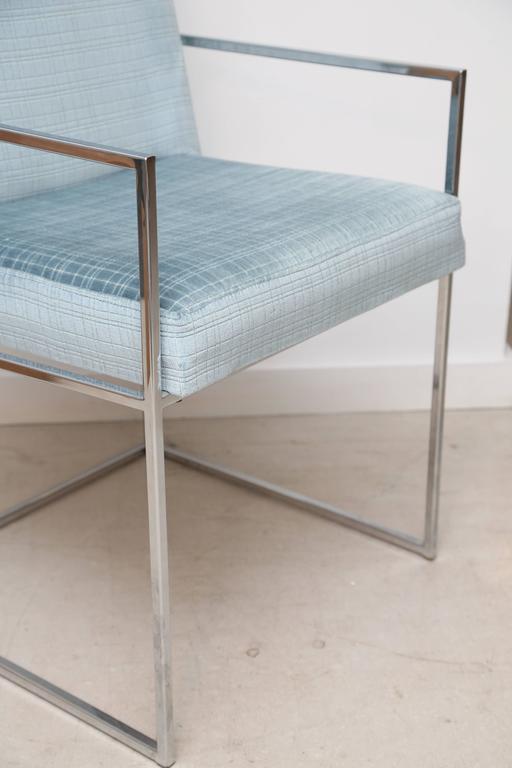 Set of Milo Baughman Dining Chairs 7