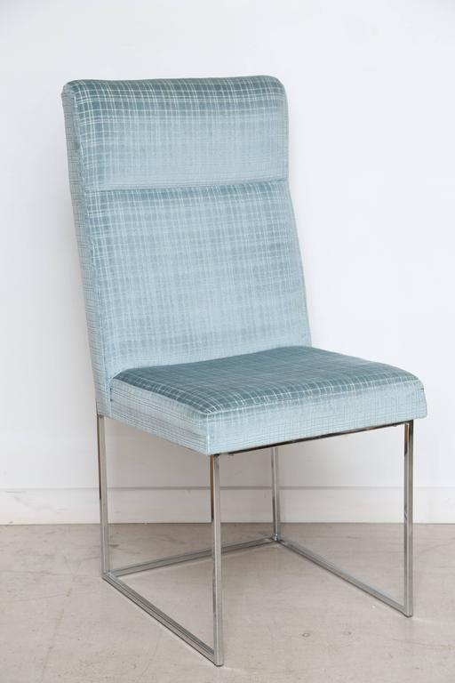 Set of Milo Baughman Dining Chairs 8