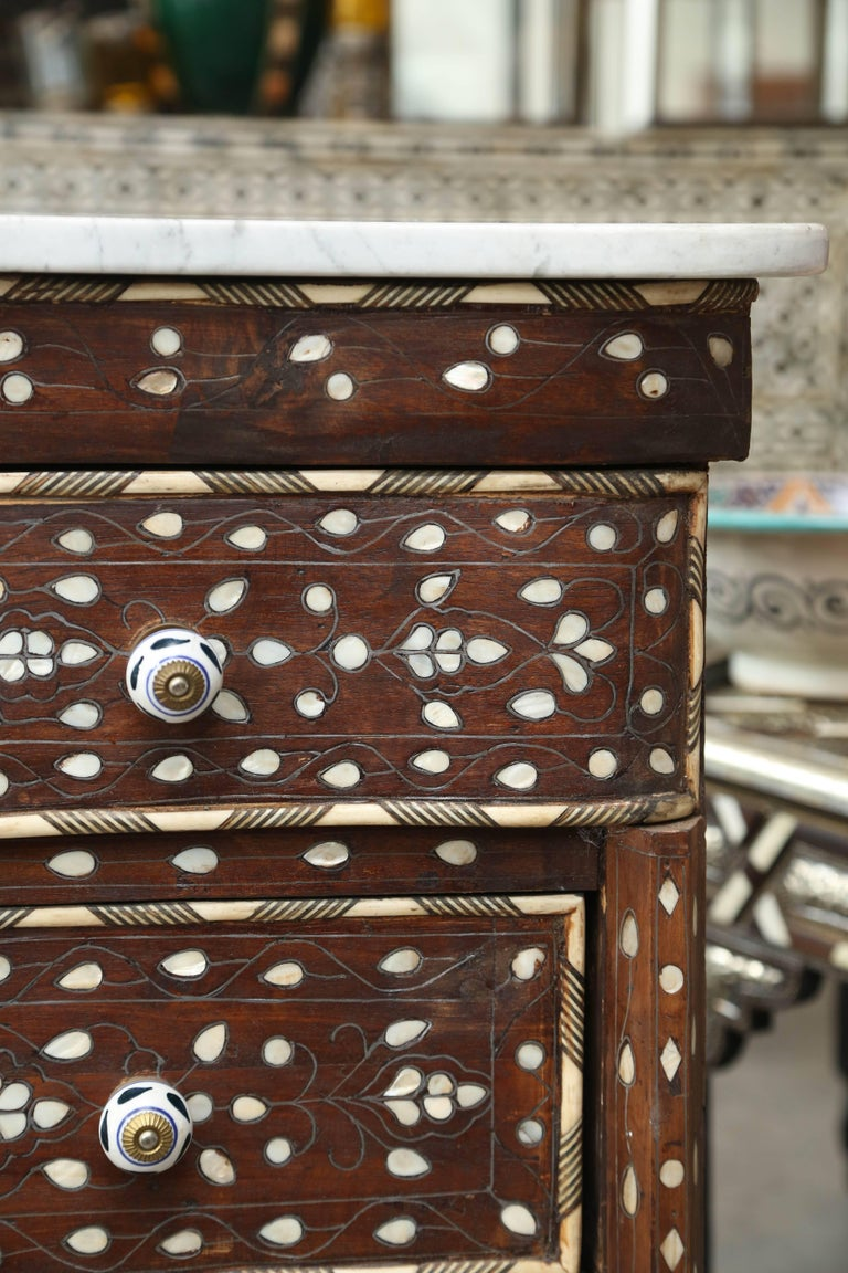 Beautiful 1940s Syrian Chest Of Drawers For Sale At 1stdibs