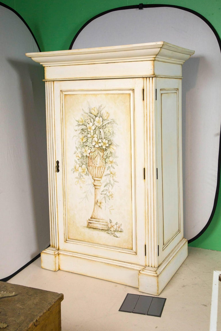 French Hand-Painted Cabinet 2