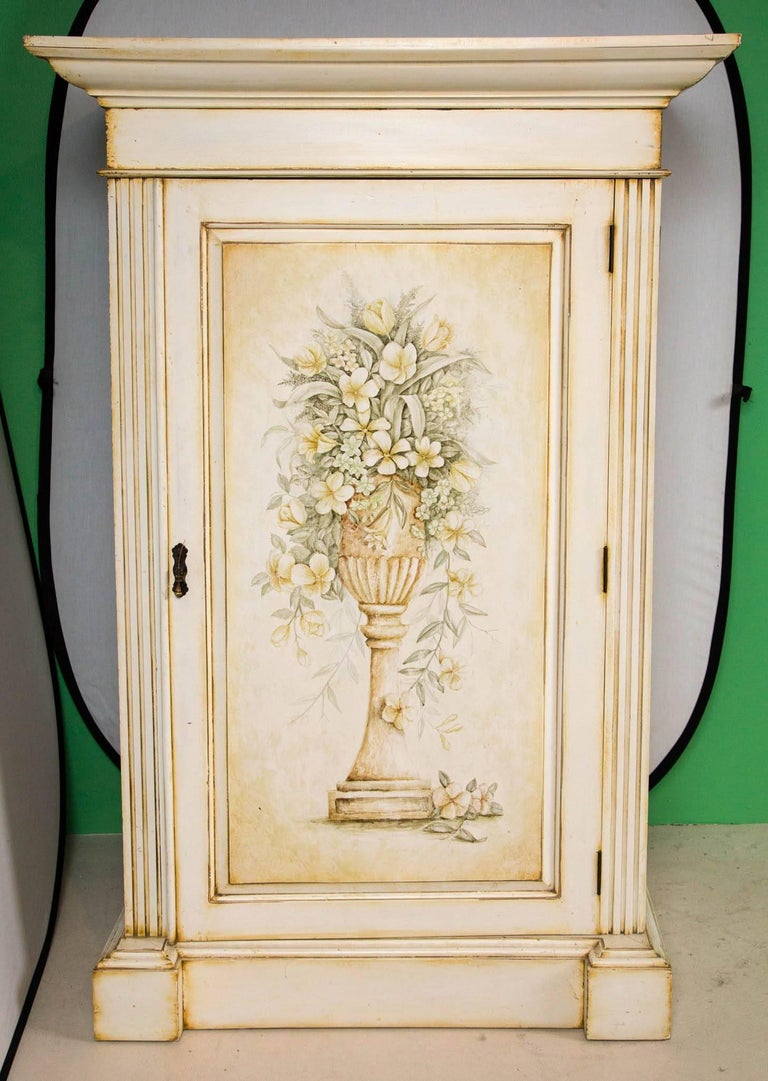 French Hand-Painted Cabinet 3