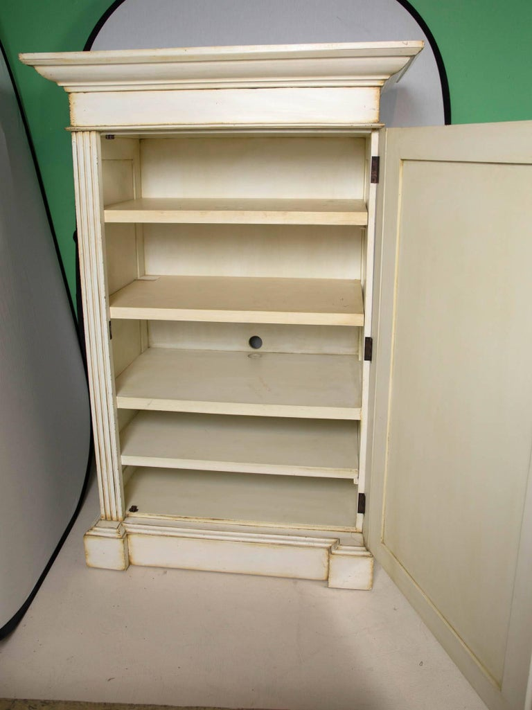 French Hand-Painted Cabinet 7