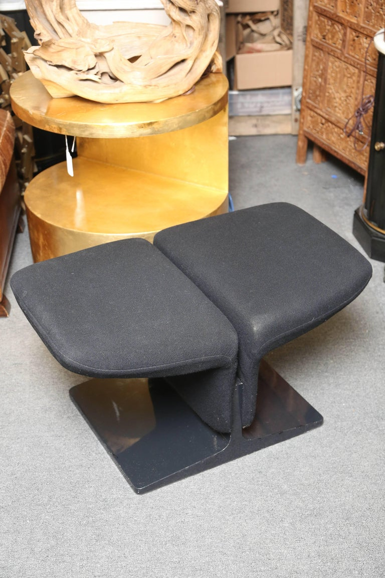Pierre Paulin Ribbon Chair with Ottoman 7