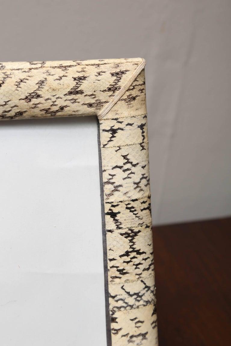 Vintage Snakeskin Picture Frame 3