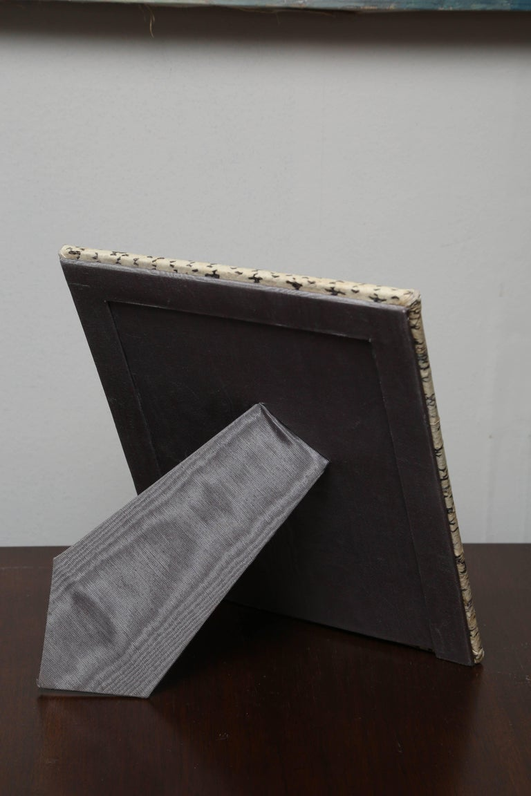 20th Century Vintage Snakeskin Picture Frame For Sale