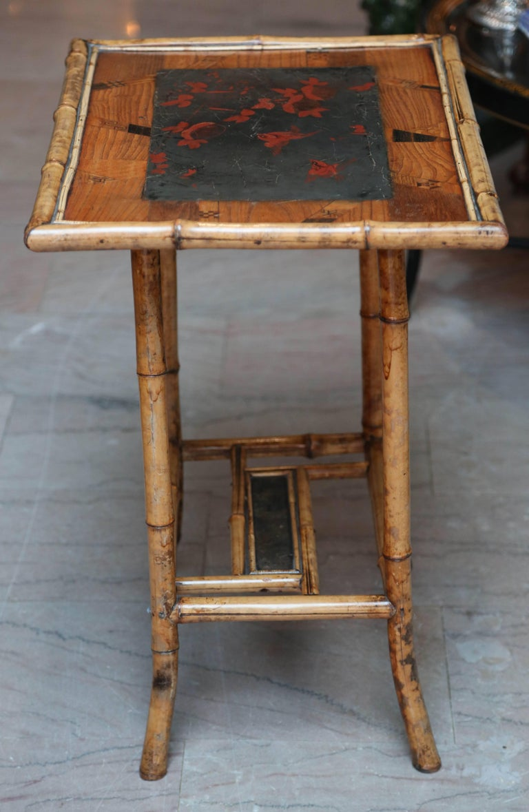 19th Century English Bamboo Table For Sale 3