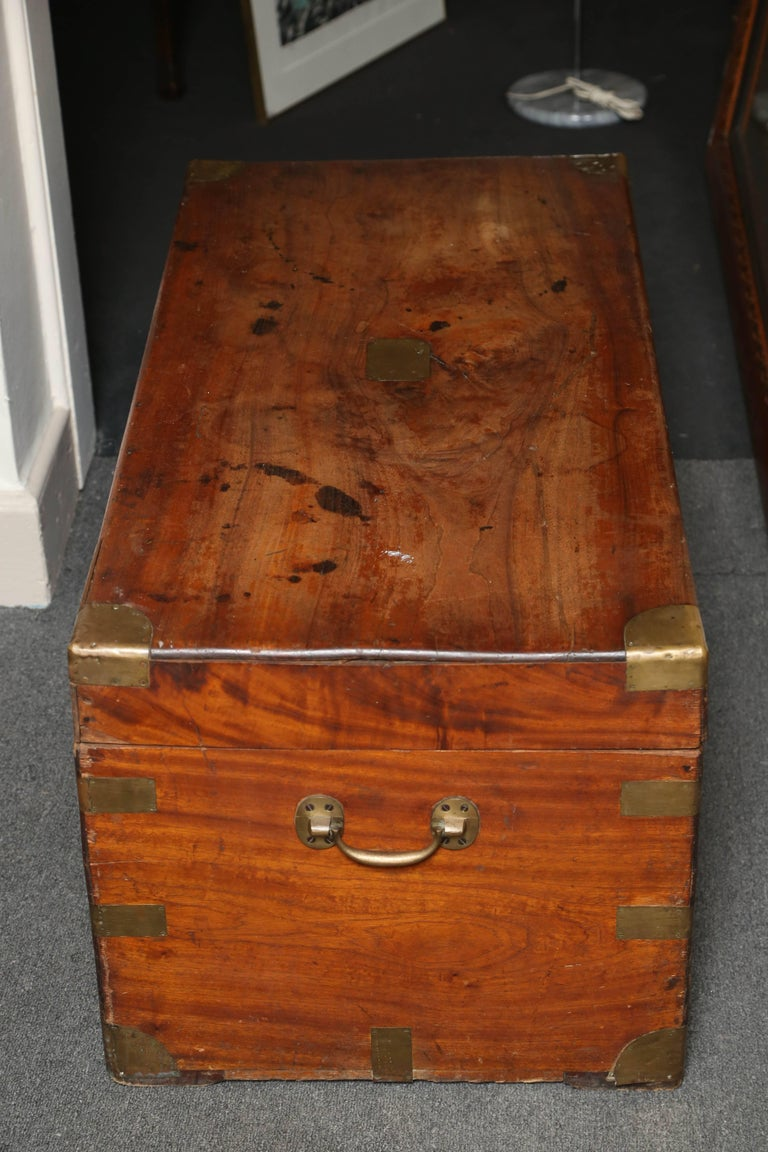 19th Century Campaign Chest For Sale 4