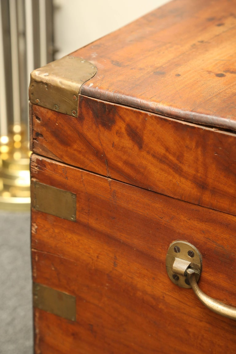 19th Century Campaign Chest For Sale 6
