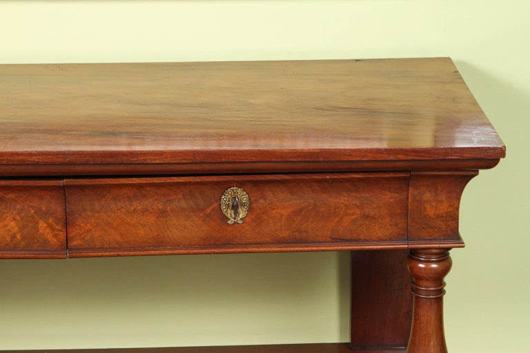 Charles mahogany server and carving station for sale at