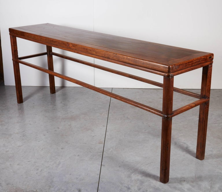 Classic Antique Walnut Console Table For Sale At 1stdibs