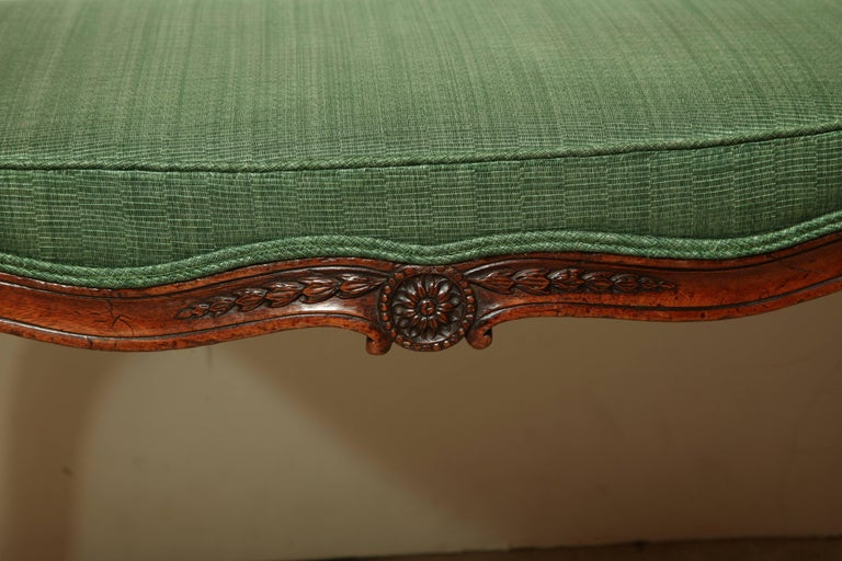 Great Britain (UK) George III Mahogany Window Bench For Sale