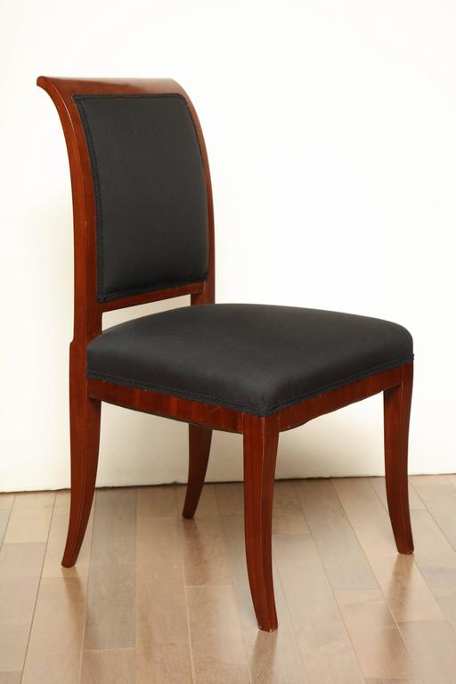 Early 19th century Northern European, mahogany side chair.