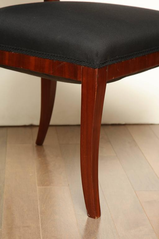 Early 19th Century Northern European, Mahogany Side Chair For Sale 1