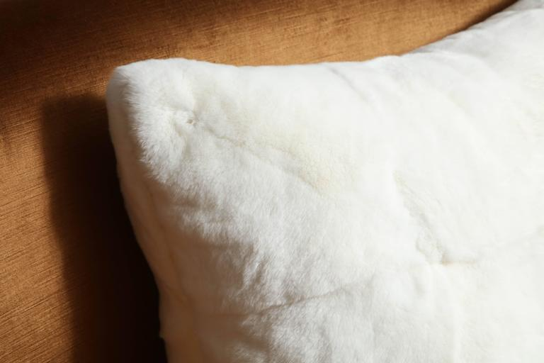American Custom White Rabbit Pillow For Sale