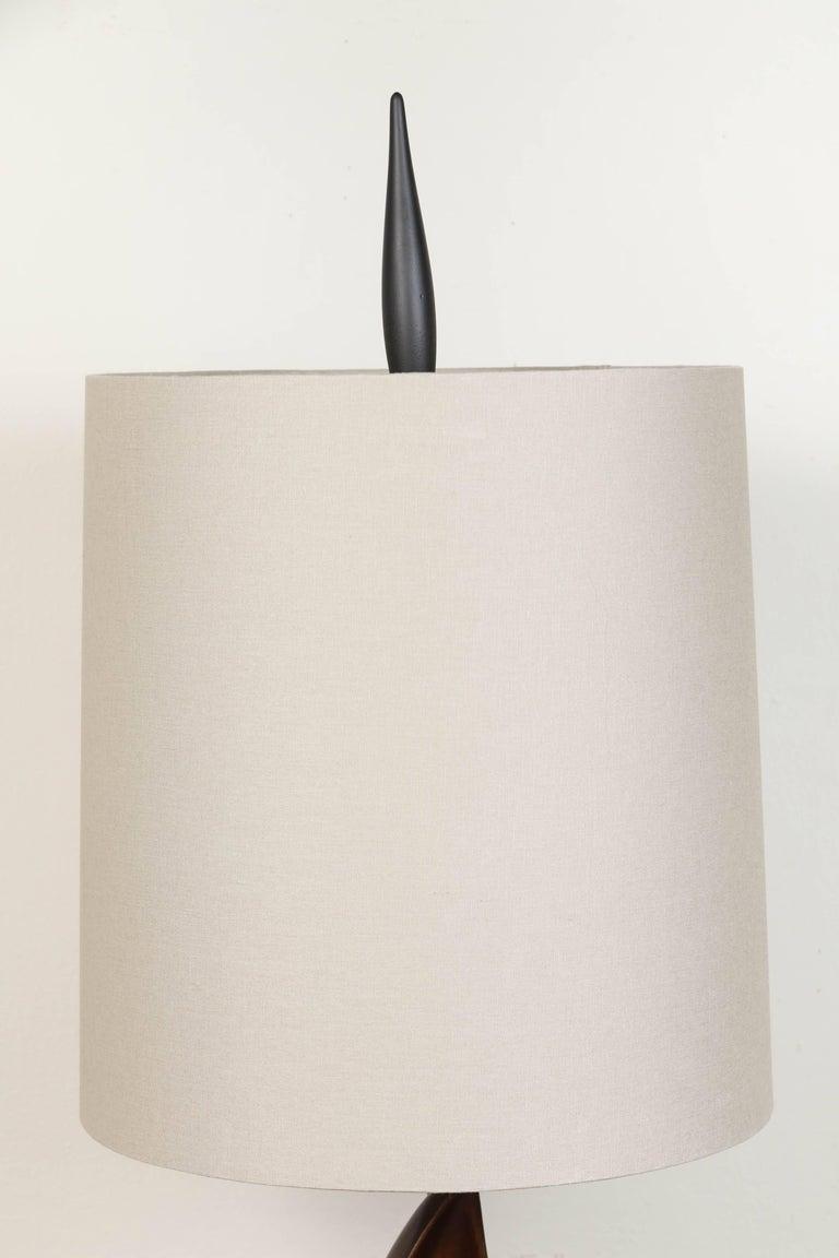 Pair of Mid-Century Heifitz Lamps 3