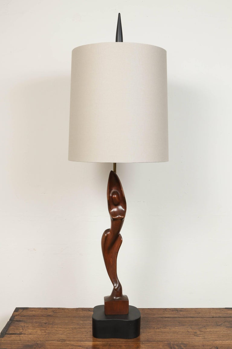 20th Century Pair of Mid-Century Heifitz Lamps For Sale