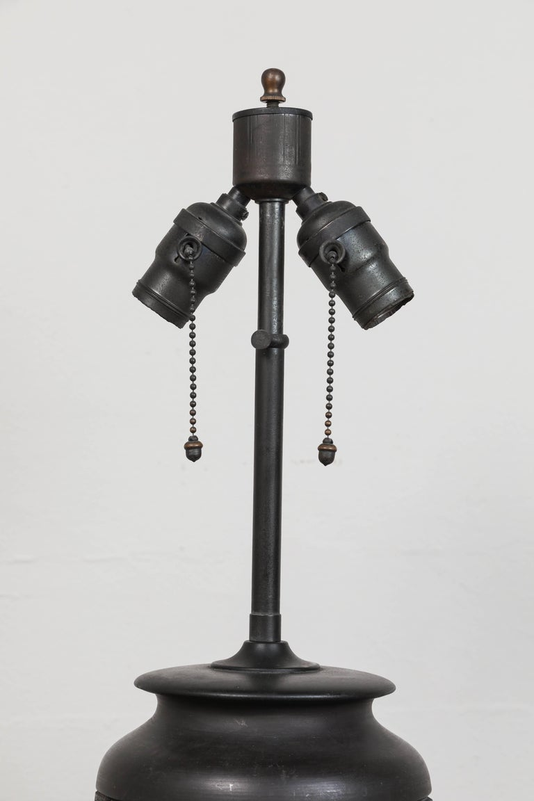 20th Century Chinese Ceramic Table Lamp For Sale