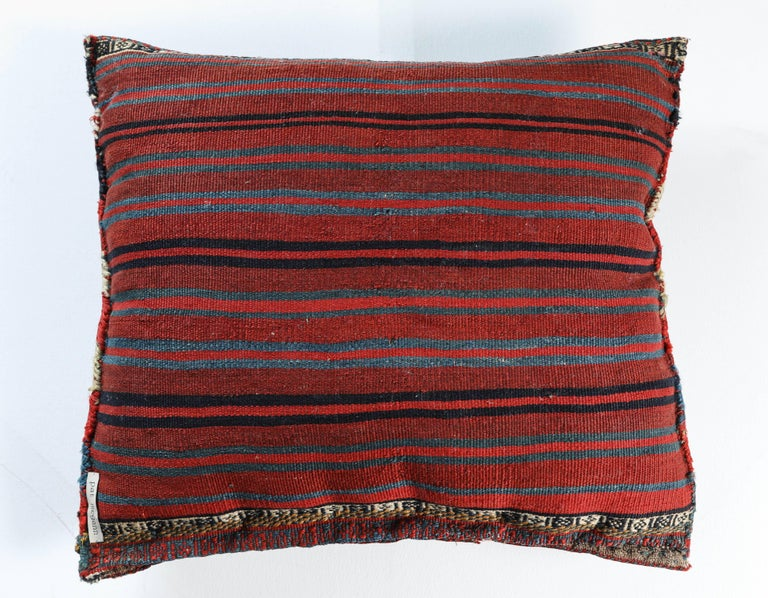 Antique Southwest Persian Saddle Bag Pillow In Good Condition For Sale In Los Angeles, CA