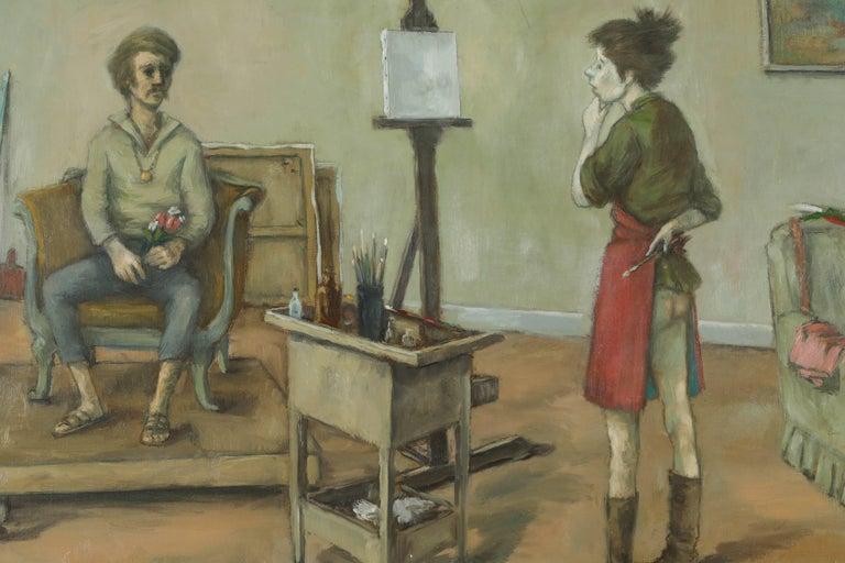 1968 & 1969 Paintings by American Artist, Alexander Brook 4