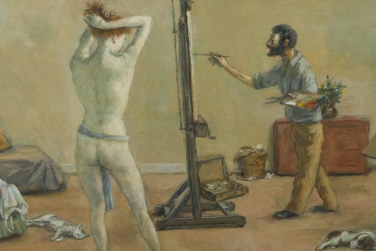 1968 & 1969 Paintings by American Artist, Alexander Brook 5