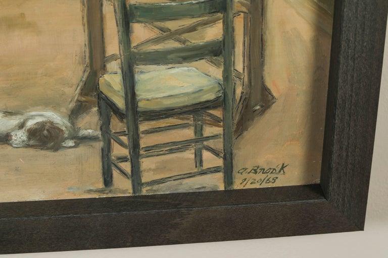 1968 & 1969 Paintings by American Artist, Alexander Brook 7