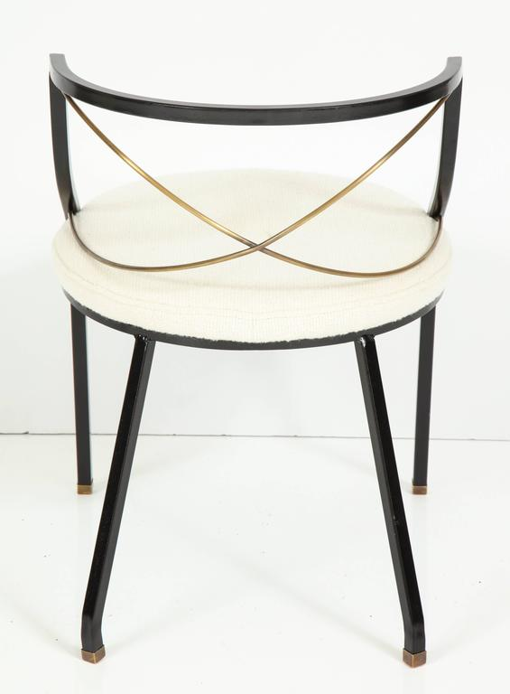 Maison Jansen Style Side Chairs In Excellent Condition For Sale In New York, NY
