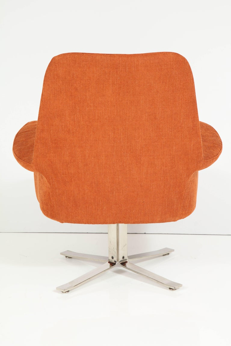 Polished Giani Moscatelli Armchairs For Sale