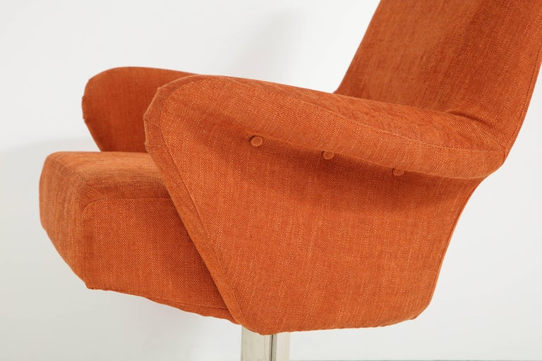 Steel Giani Moscatelli Armchairs For Sale