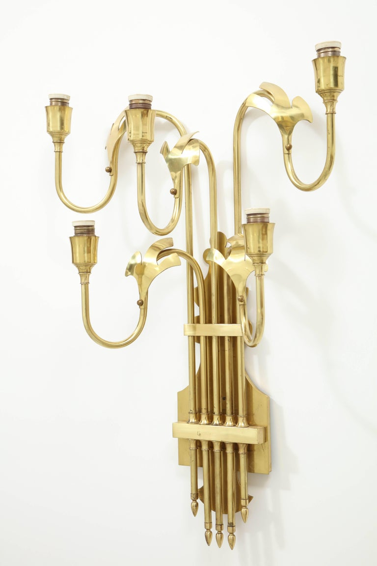 Large Swedish Sconces For Sale 1