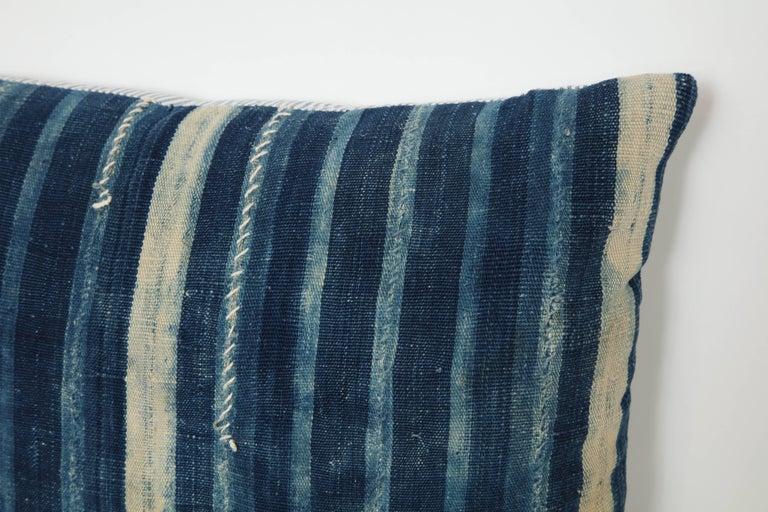 Antique African textile pillow.