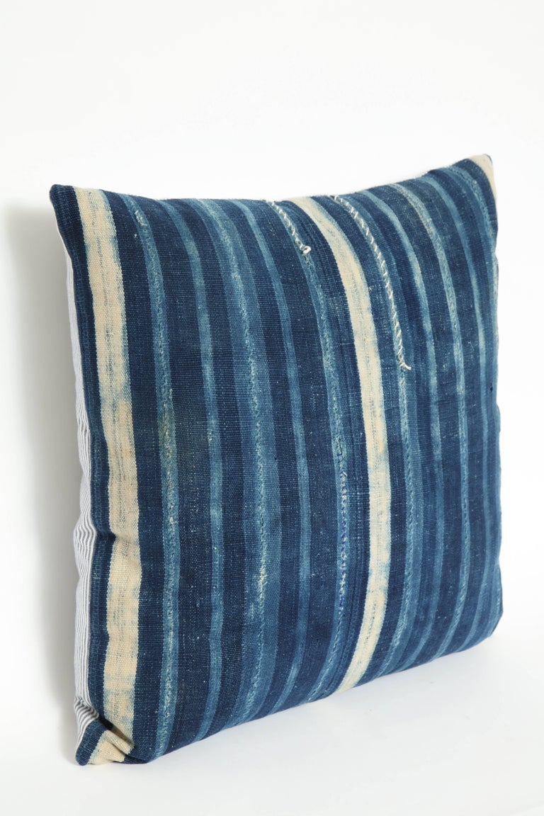20th Century Antique African Textile Pillow For Sale